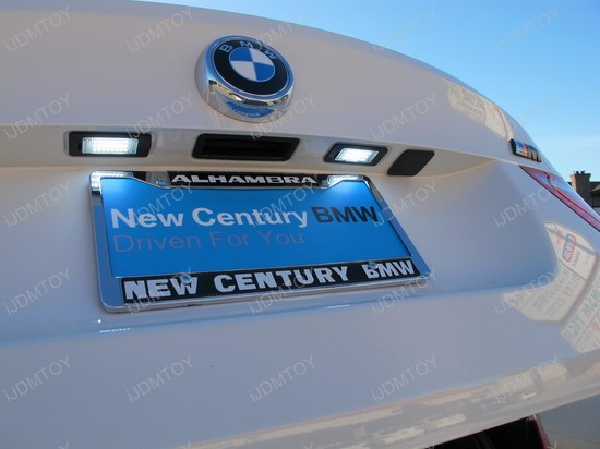 BMW - X6 - M - LED - License - plate - lights - 2